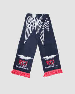 Eagle Scarf in Navy