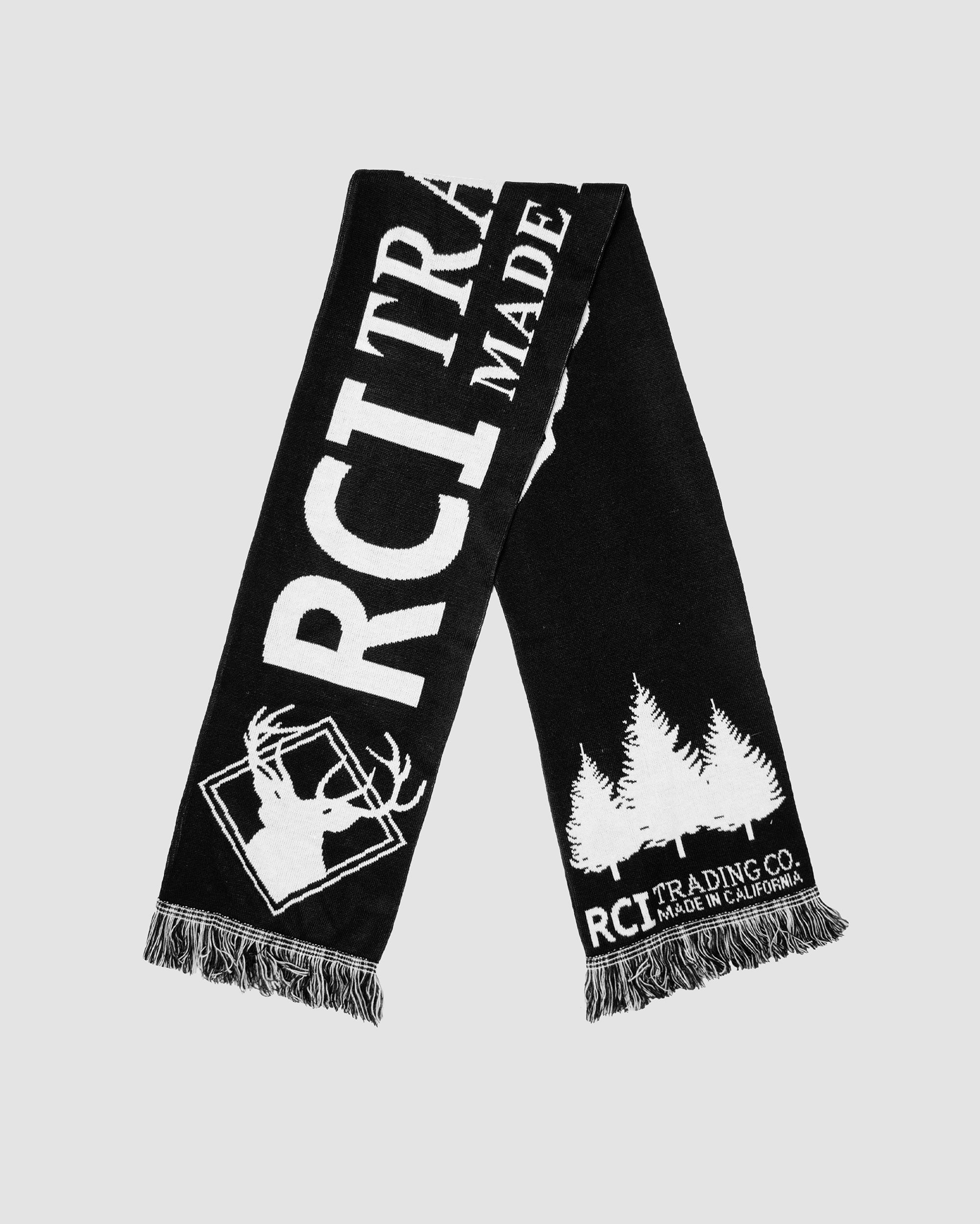 RCI Trading Co Scarf in Black
