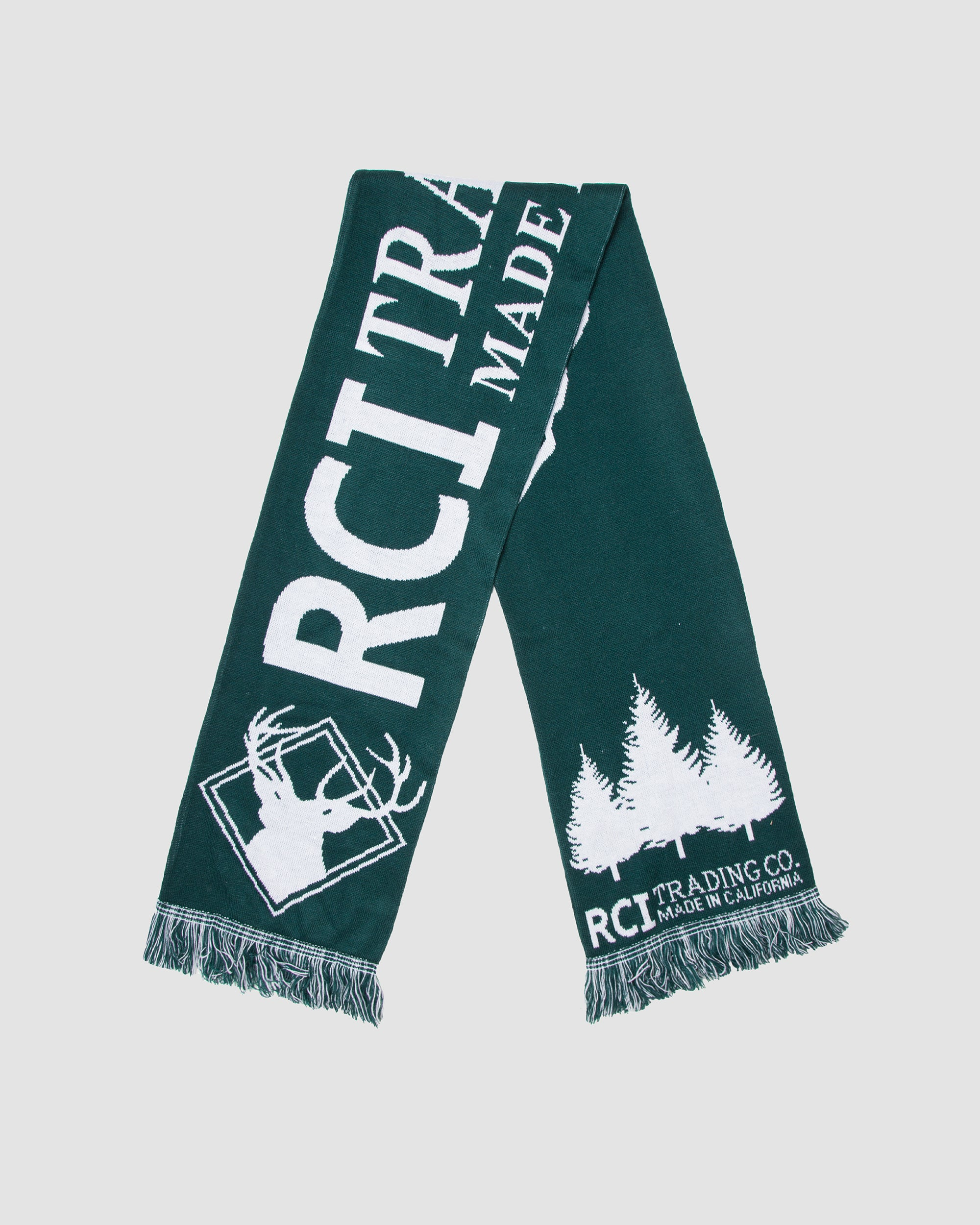 RCI Trading Co Scarf in Forest