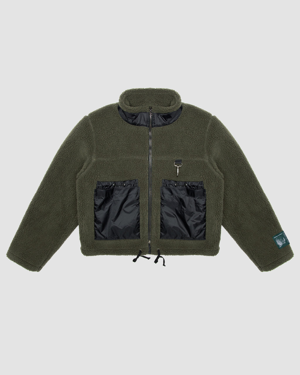 Sherpa Fleece in Forest