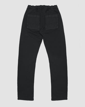 Patch Pocket Sweatpant in Black