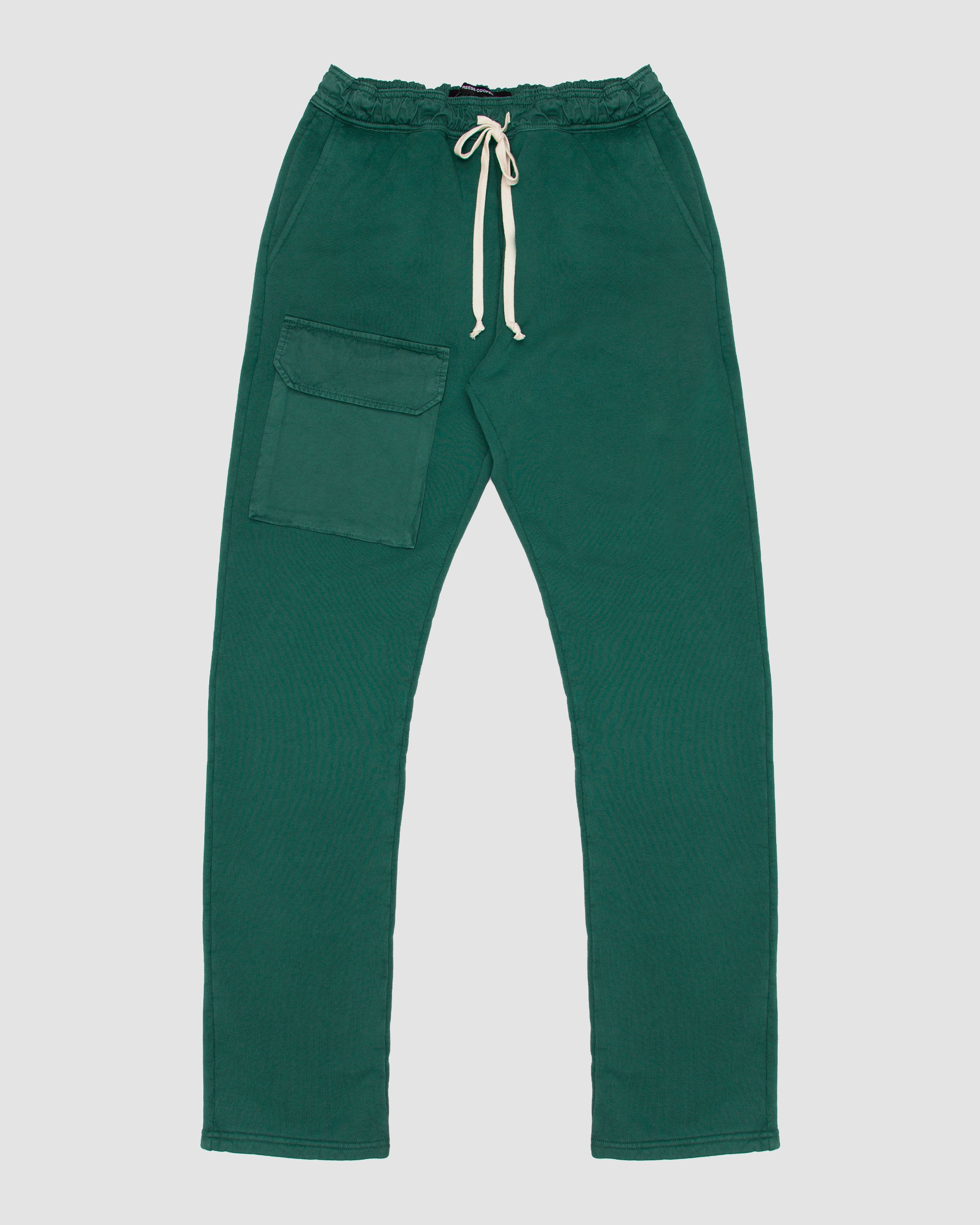 Patch Pocket Sweatpant in Green