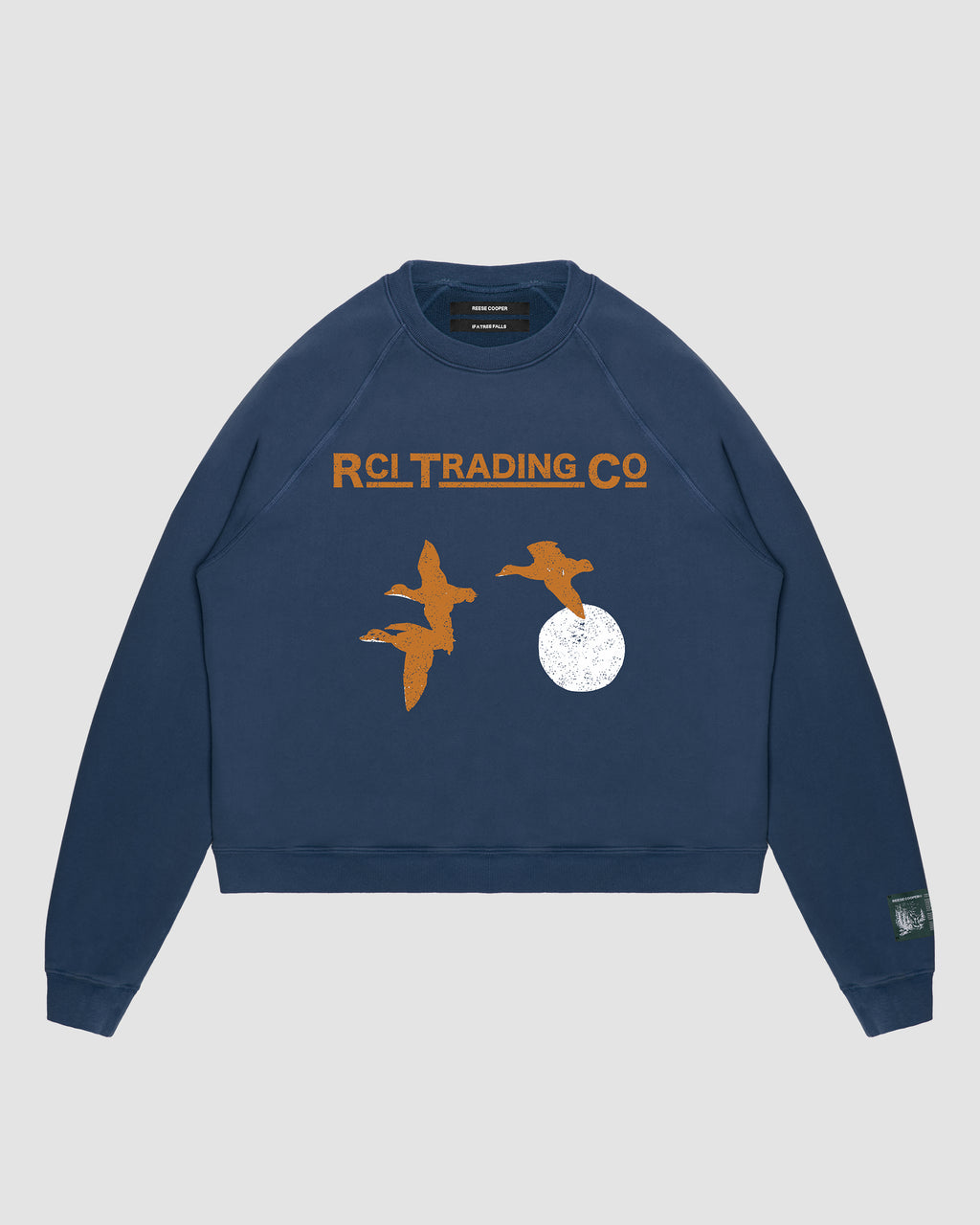 Target Shooting Crewneck Sweatshirt in Navy