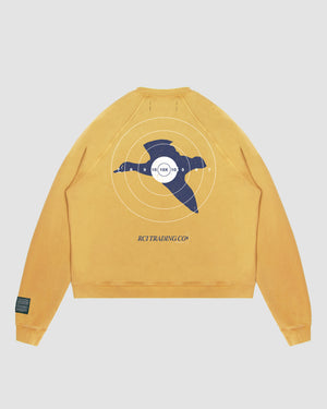 Target Shooting Crewneck in Yellow