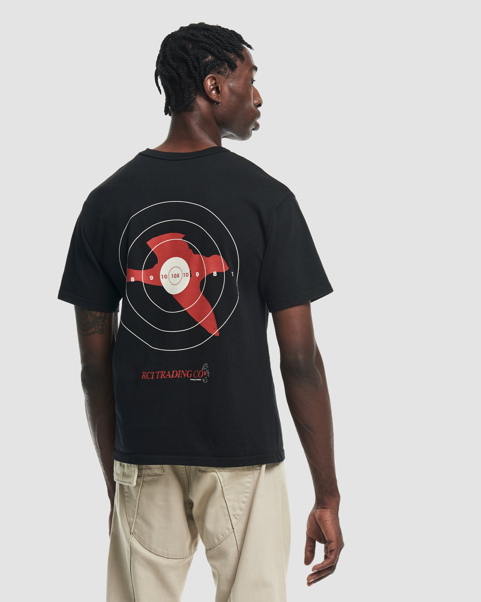 Target Shooting Tee Shirt in Black