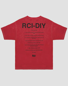 RCI - DIY Tee Shirt in Scarlet
