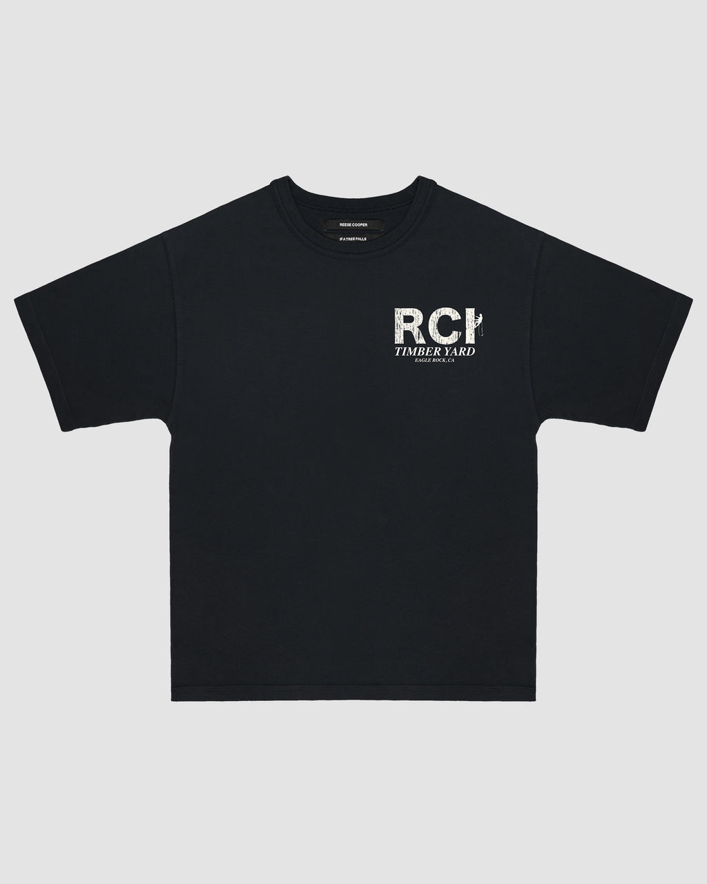 RCI Timberyard Tee Shirt in Black
