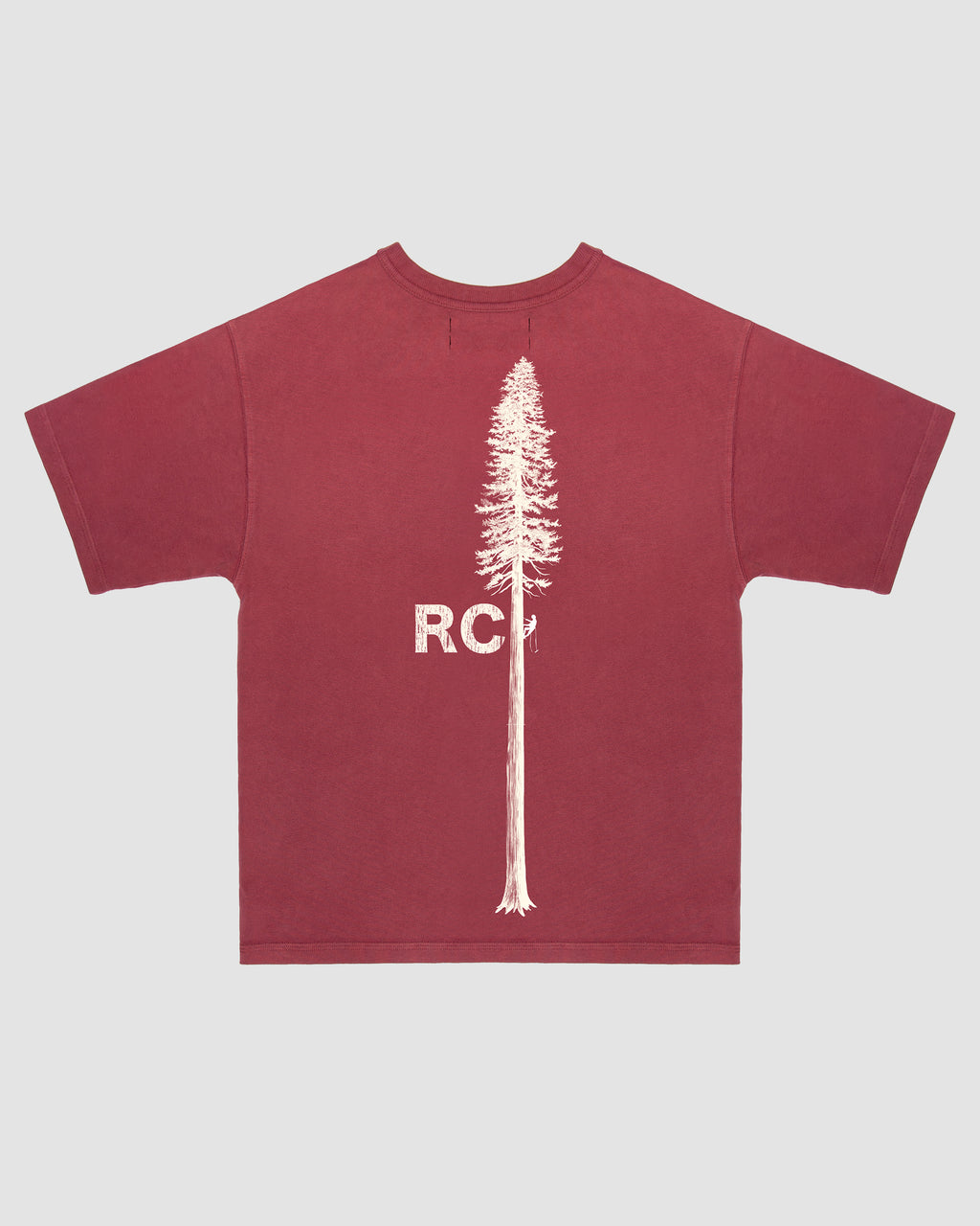 RCI Timberyard Tee Shirt in Red