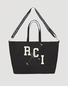 RCI Compass Oversized Tote Bag in Black