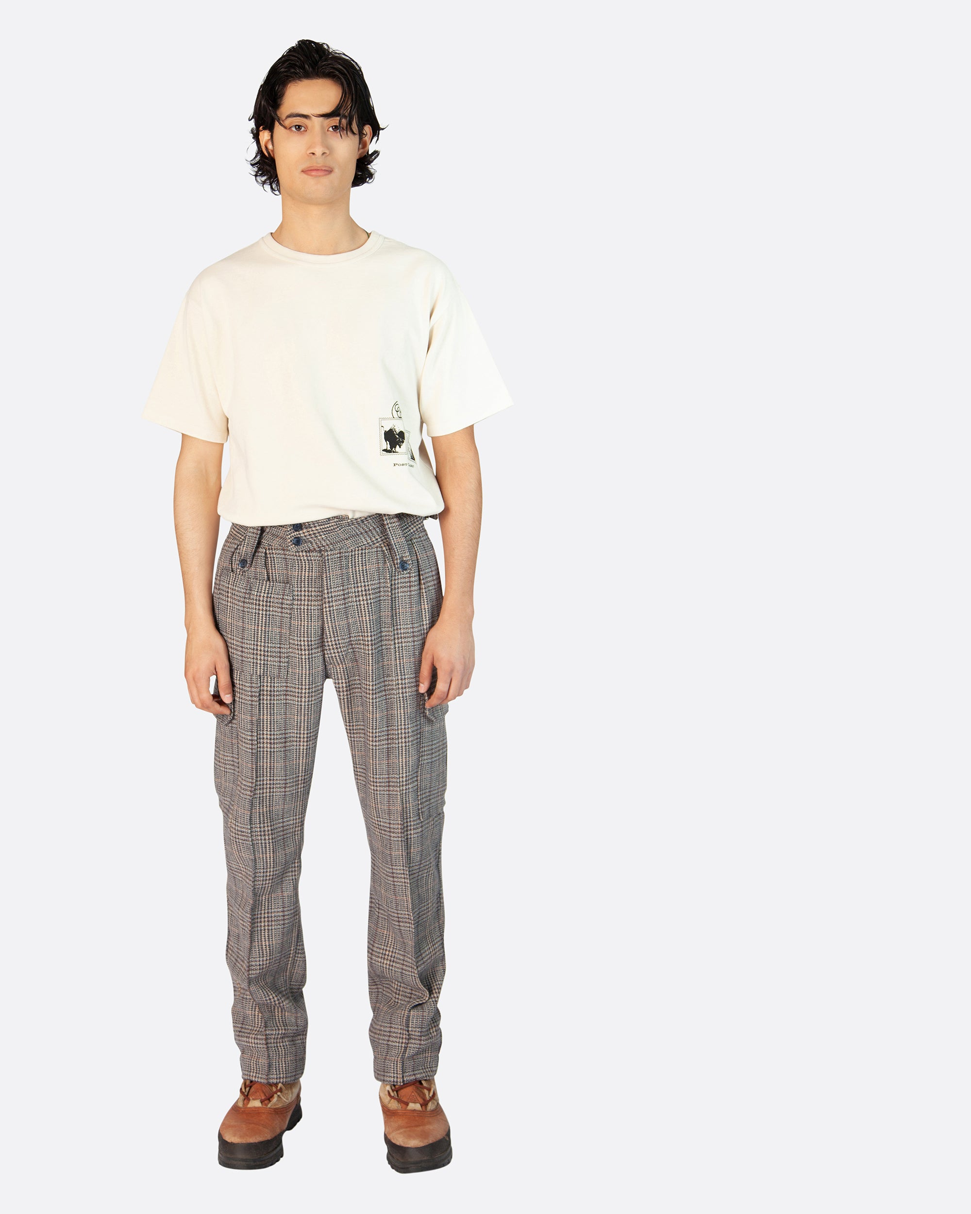 Wool Adjustable Cargo Trouser