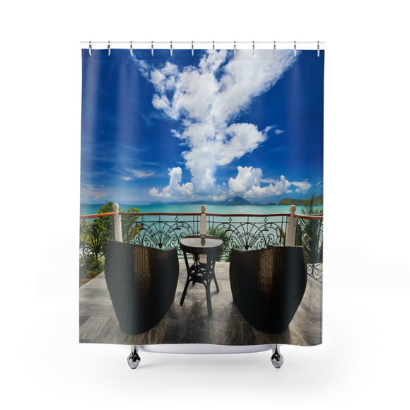 Beach View 108R Shower Curtain