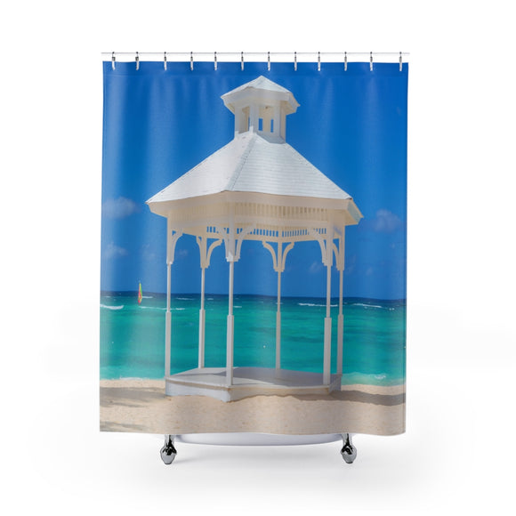 Beach View 114R Shower Curtain