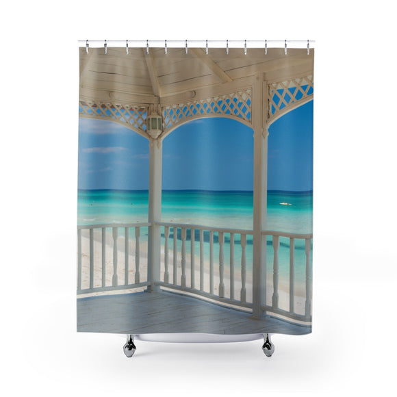 Beach View 112 Shower Curtain