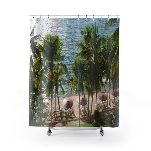 Beach View 106R Shower Curtain
