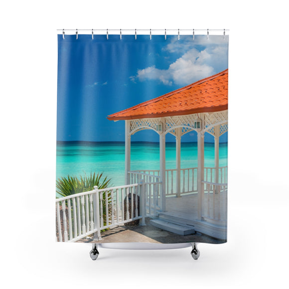 Beach View 109 Shower Curtain