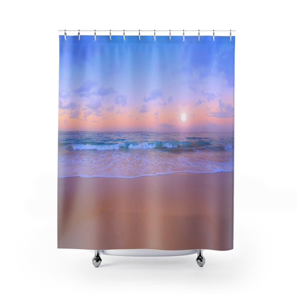 Beach Sunset 109 Shower Curtain