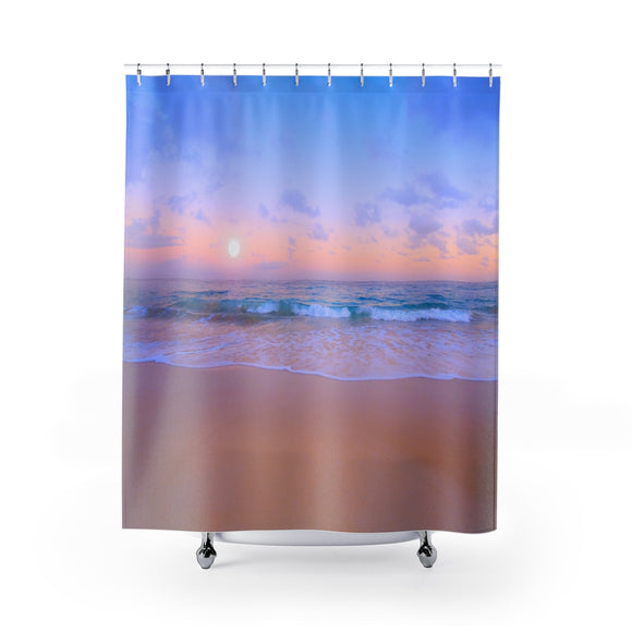 Beach Sunset 109R Shower Curtain