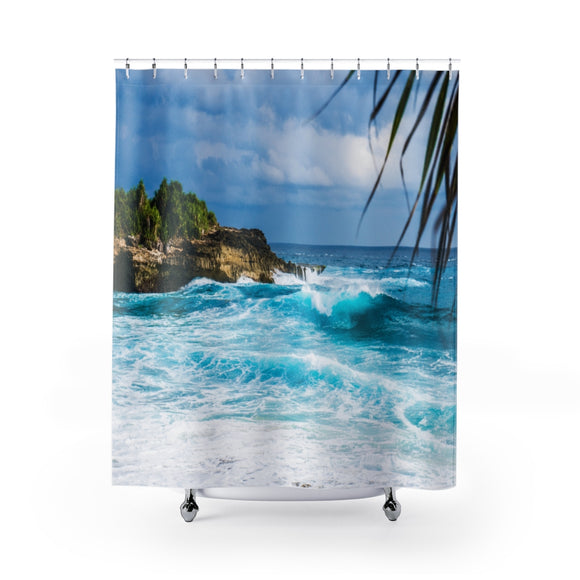 Beach Waves 101 Shower Curtain