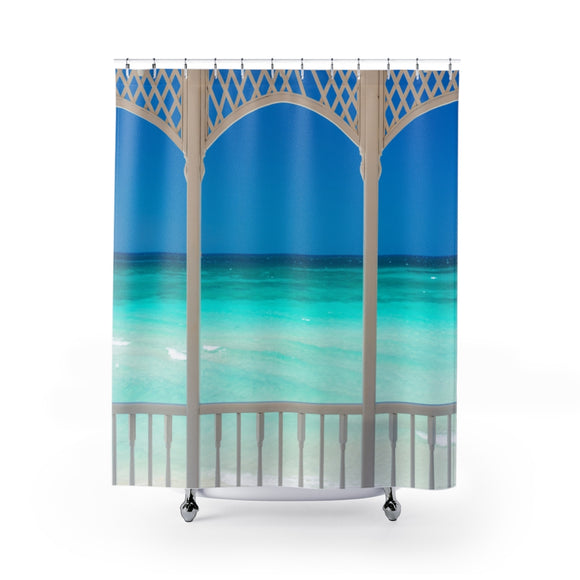 Beach View 110 Shower Curtain