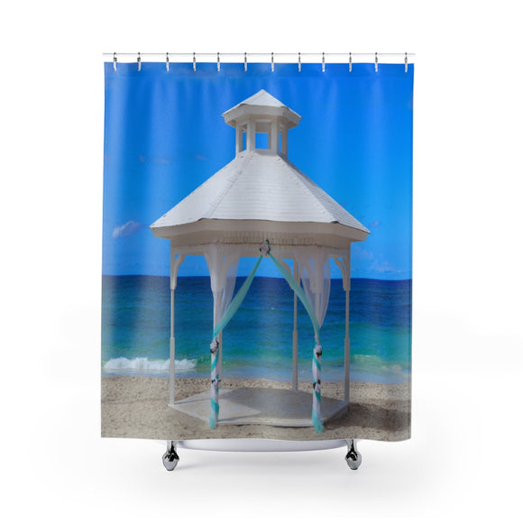 Beach View 115R Shower Curtain