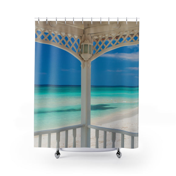 Beach View 111R Shower Curtain