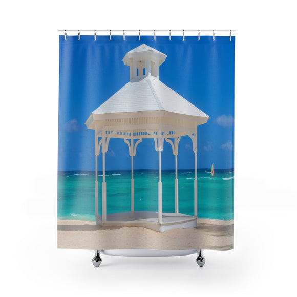 Beach View 114 Shower Curtain