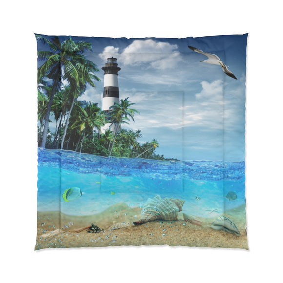 Lighthouse 101 Comforter