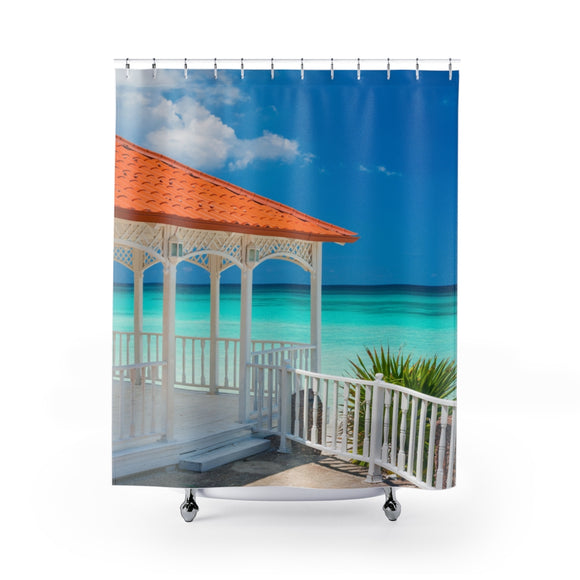 Beach View 109R Shower Curtain