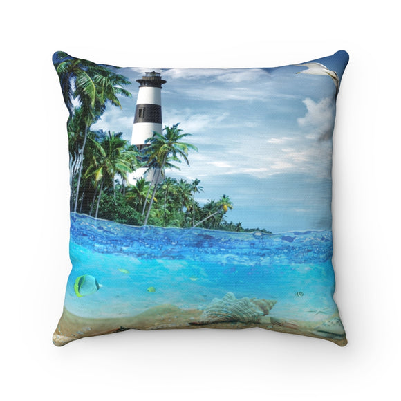 Lighthouse 101 Pillow