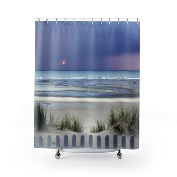 Beach Sunset 115 Shower Curtain