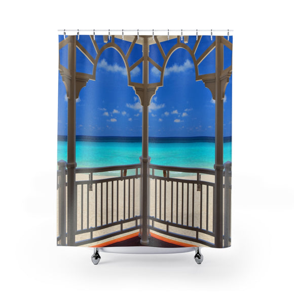 Beach View 113R Shower Curtain