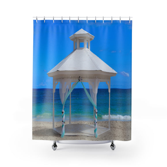 Beach View 115 Shower Curtain