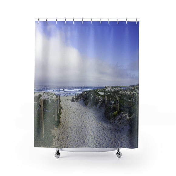 Beach Path 106R Shower Curtain