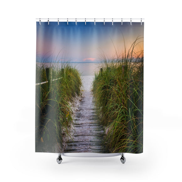 Beach Path 108 Shower Curtain
