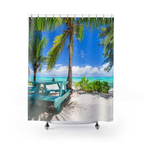 Beach View 107 Shower Curtain