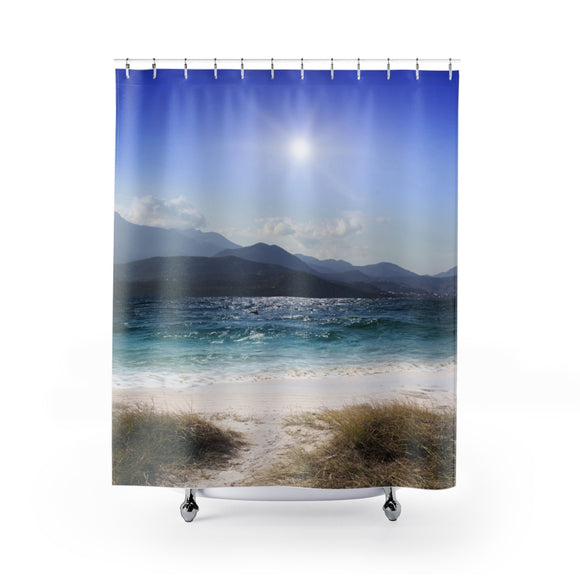 Beach Shore 101 Shower Curtain