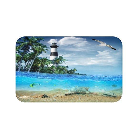 Lighthouse 101 Bath Mat