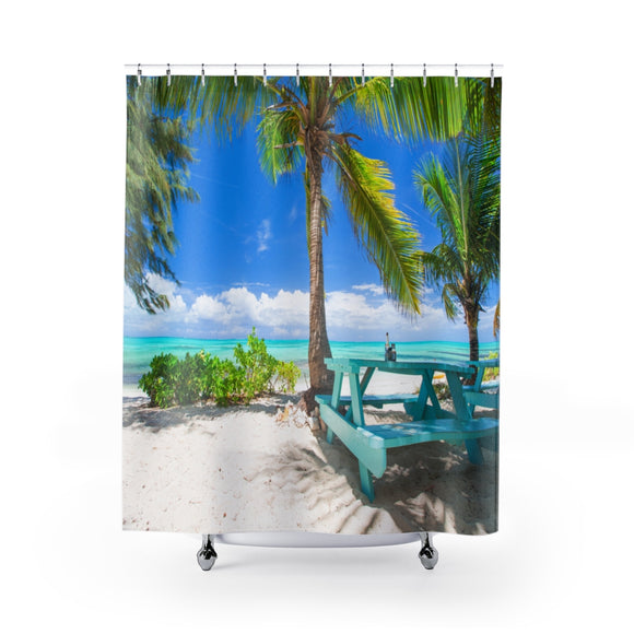 Beach View 107R Shower Curtain