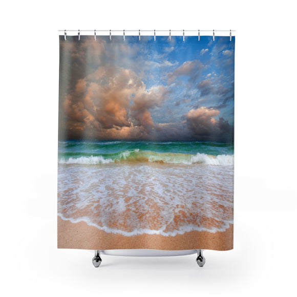 Beach Sunset 101 Shower Curtain