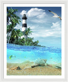 Lighthouse 101 Framed Print