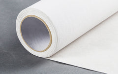 White Rolled Canvas
