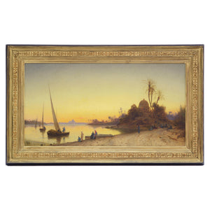 Sunset by the Nile - MONDA Gallery
