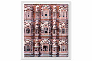 Framed Canvas Hawa Mahal Façade