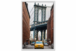 Framed Canvas New York Dumbo