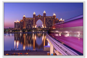 Framed Canvas To Atlantis Dubai