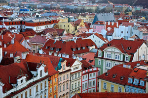 Over Old Town Prague