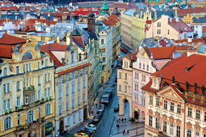 The Streets of Old Town Prague