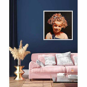 Boucle d'or (Goldilocks) on living room wall