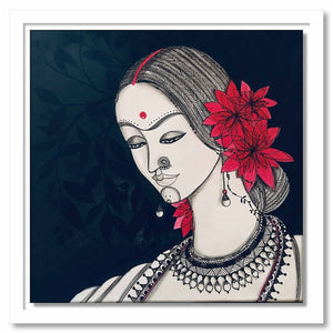 Framed Canvas Avaneeta