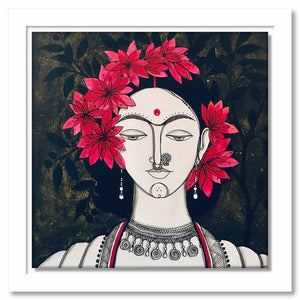 Framed Canvas Priya